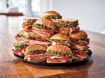 Sandwich Supreme Tray